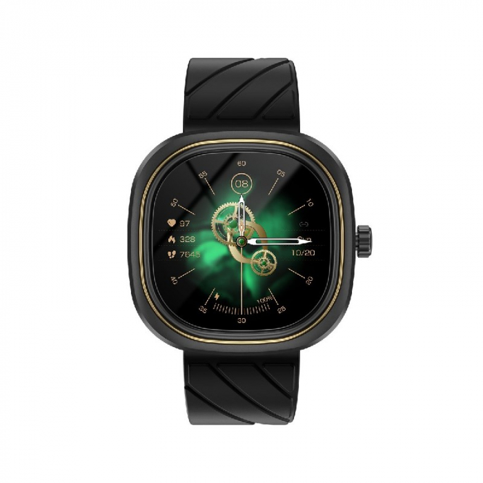 Smartwatch Doogee DG Ares Negru cu bratara din silicon [0]
