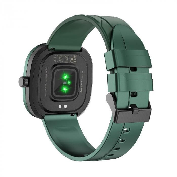 Smartwatch Doogee DG Ares Verde cu bratara din silicon [3]