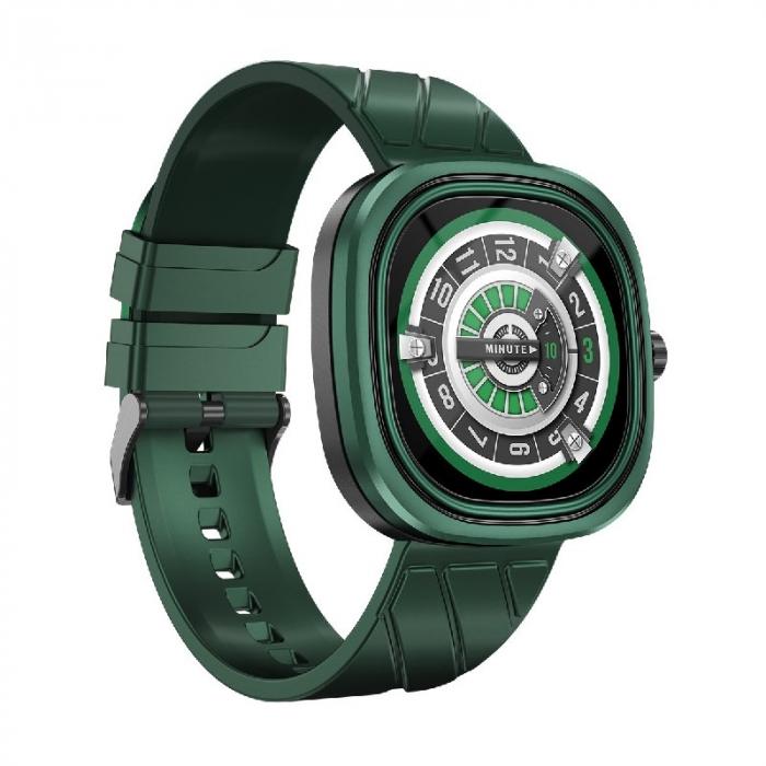 Smartwatch Doogee DG Ares Verde cu bratara din silicon [2]