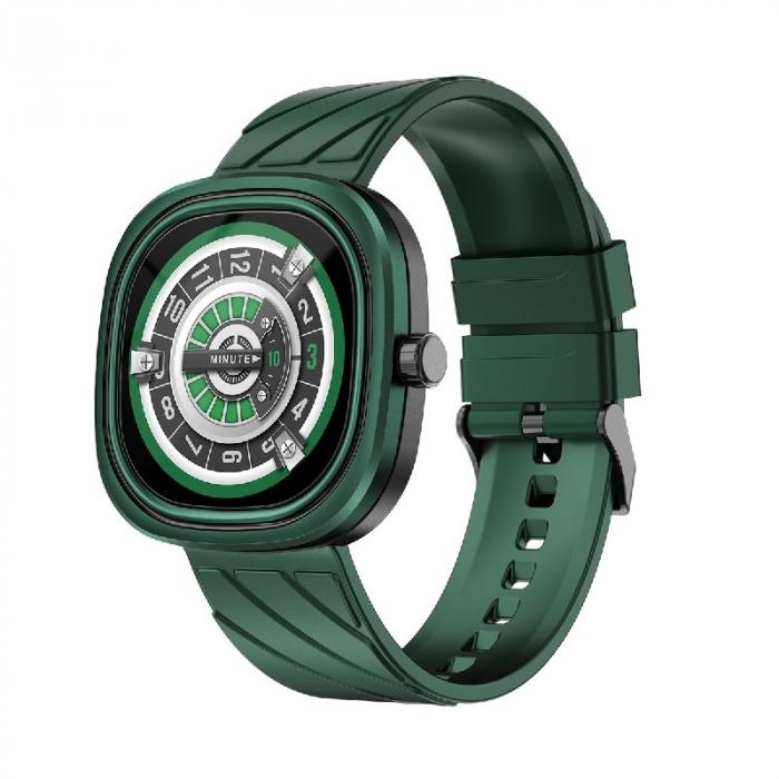 Smartwatch Doogee DG Ares Verde cu bratara din silicon [1]