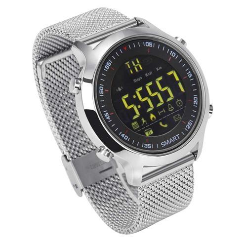 Smartwatch EX18 waterproof ip67, autonomie pana la 12 luni - DualStore 2