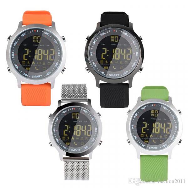 Smartwatch EX18 waterproof ip67, autonomie pana la 12 luni - DualStore 0