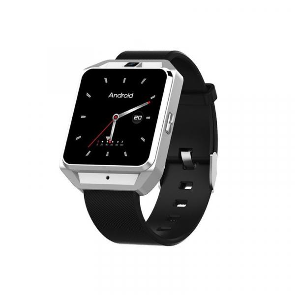 Smartwatch IWatch M5, 4G , Android 6.0, 1.54 inch, MTK6737M, Waterproof, GPS, 1GB RAM, 8GB ROM, Monitorizare Ritm Cardiac 3