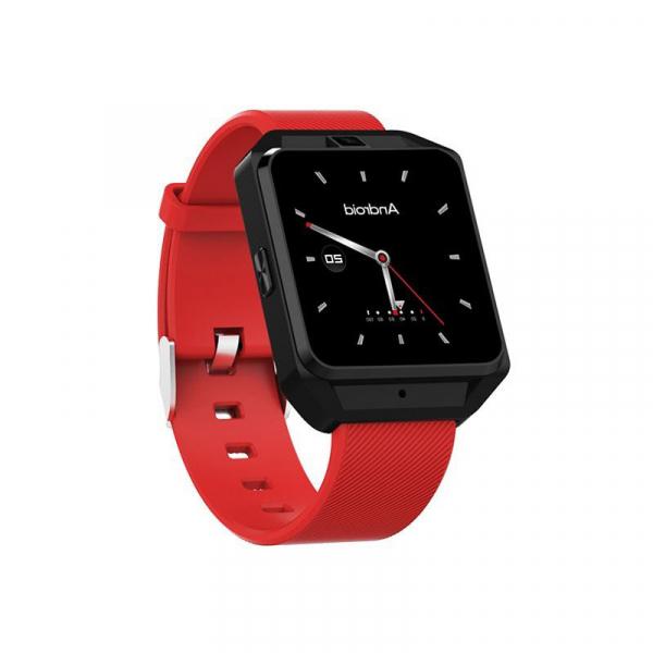 Smartwatch IWatch M5, 4G , Android 6.0, 1.54 inch, MTK6737M, Waterproof, GPS, 1GB RAM, 8GB ROM, Monitorizare Ritm Cardiac 8