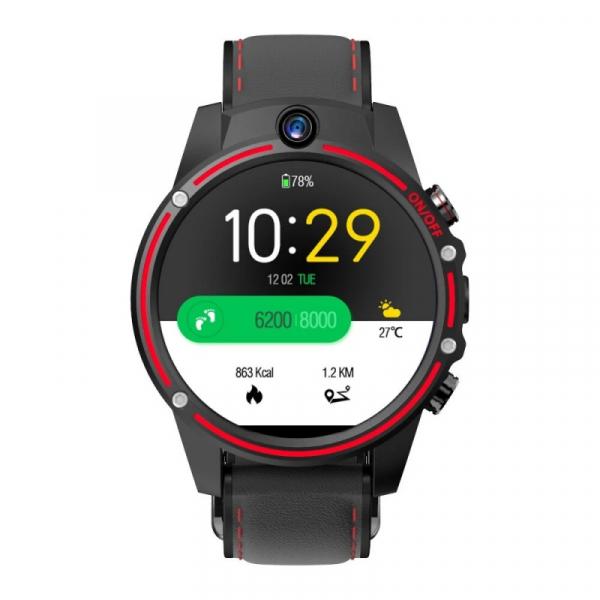 Smartwatch Kospet Vision 3/32 Negru cu Rosu 4
