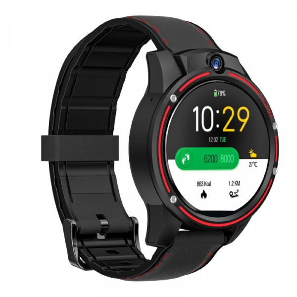 Smartwatch Kospet Vision 3/32 Negru cu Rosu 1