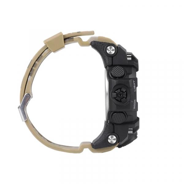 Smartwatch STAR EX16S, LCD FSTN iluminat, Waterproof IP67, Bluetooth v4.0, Baterie CR2032, Kaki camuflaj 4