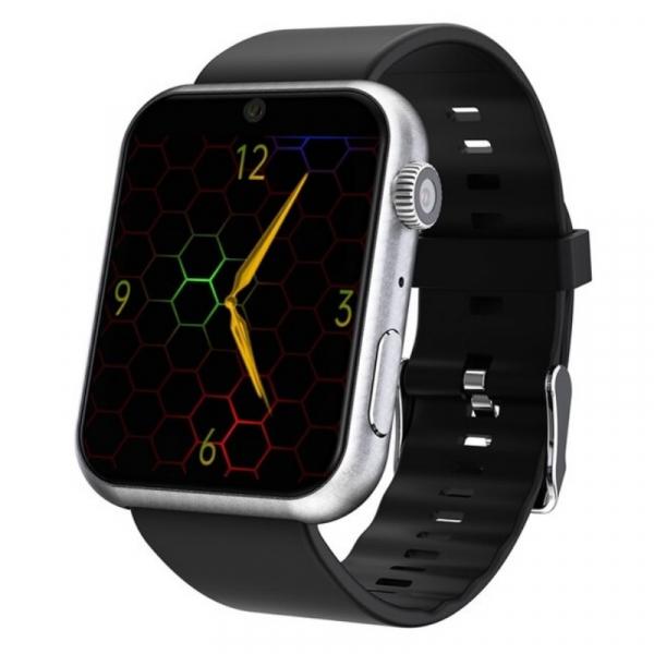 Smartwatch STAR S888, 4G, TFT 1.8 , 3GB RAM, 32GB ROM, Android 7.1, MTK6739 QuadCore, GPS, Wi-Fi dual band, Bluetooth, IP65, 800mAh, Silver imagine dualstore.ro 2021