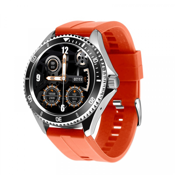 Smartwatch STAR Z69, TFT 1.28 , Bluetooth v5.1, Ritm cardiac, Presiune sanguina, Monitorizare menstruatie, IP65, 350mAh, Orange imagine dualstore.ro 2021