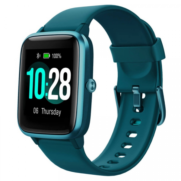 Smartwatch Ulefone Watch Turcoaz, TFT 1.3 touch screen, Ritm cardiac, Monitorizare Menstruatie, Waterproof, Bluetooth v5.0, 210mAh imagine dualstore.ro 2021