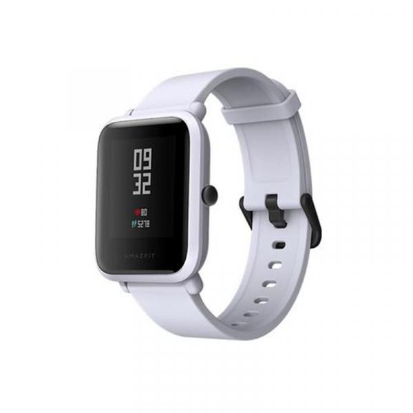 Smartwatch Xiaomi Amazfit Bip + folie cadou , GPS, Bluetooth, Waterproof IP68, ecran curbat 1.28 inch, ritm cardiac 7