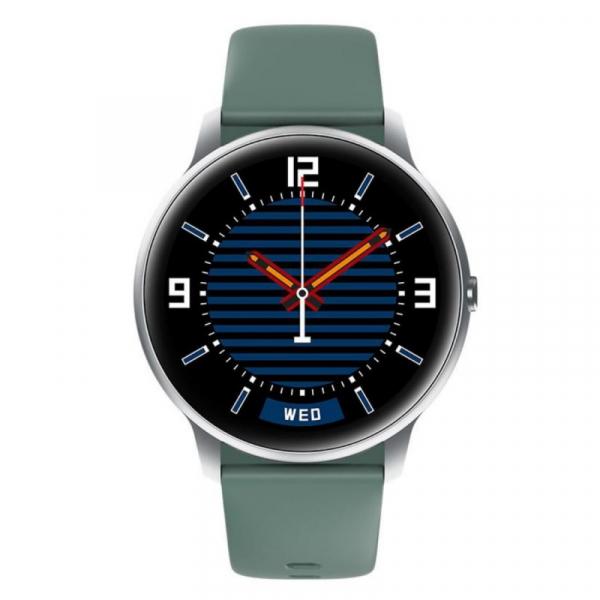 "Smartwatch Xiaomi IMILAB KW66, TFT HD 1.28"" Touch Screen curbat 3D, Ritm cardiac, Bluetooth v5.0, IP68, 340mAh, Verde 1"