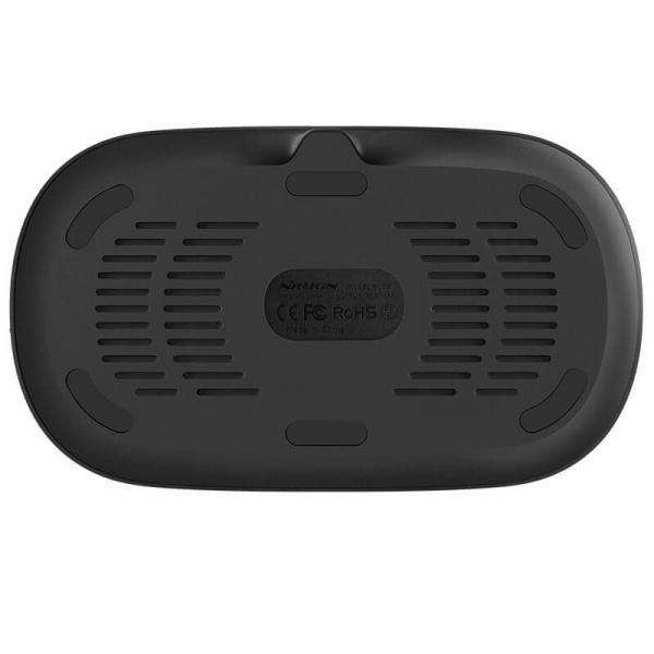 Stand de incarcare a 2 gadgeturi, Nillkin Gemini, incarcare wireless, incarcare rapida, protectie la incarcare 6