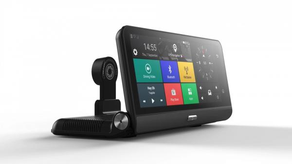 Navigator pentru bord Star E09 Pro DVR 4G, Android 8.1, GPS, 8 inch, 2GB RAM, 32GB ROM, SL8541E QuadCore, WiFi, Bluetooth, Camera fata spate
