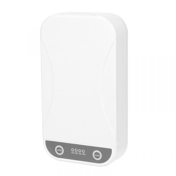 Sterilizator UV cu ozon multi-functional portabil STAR cu aromatherapy reincarcabil cu incarcator wireless si notificare vocala, Alb 0