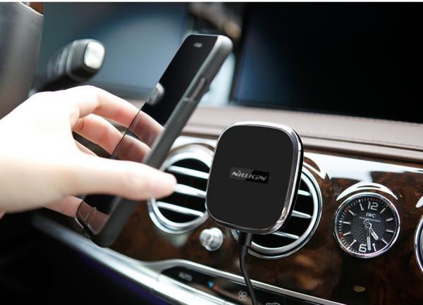Suport auto  magnetic cu incarcare  wireless Nillkin  versiunea 2 8