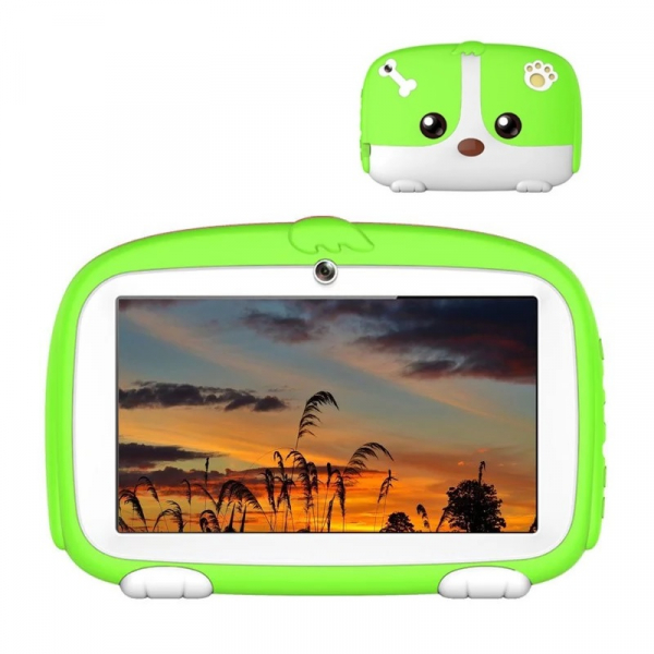 Tableta Beneve Q718 Verde, 3G, LCD 7 , Android 9, 1GB RAM, 16GB ROM, Wi-Fi, Camera, Slot card, 2800mAh