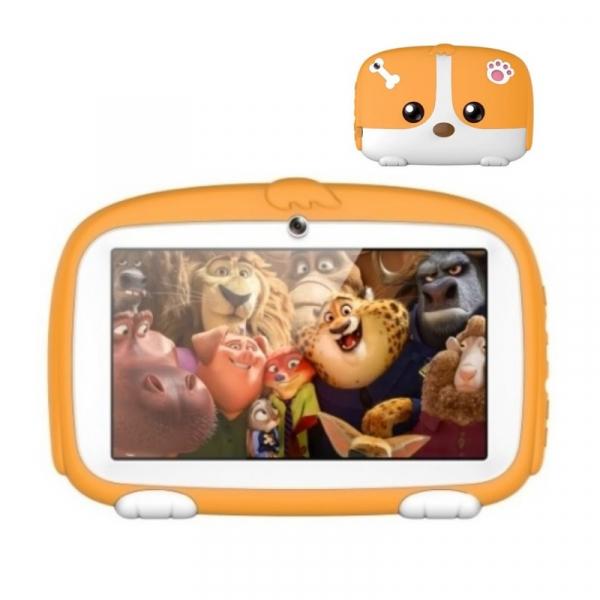 Tableta Beneve Q718 Orange, 3G, LCD 7 , Android 9, 1GB RAM, 16GB ROM, Wi-Fi, Camera, Slot card, 2800mAh