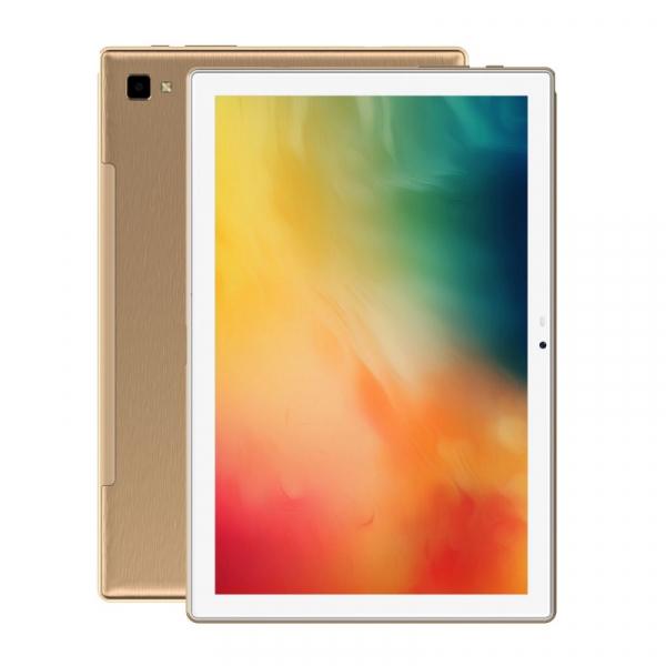 Tableta Blackview Tab 8, 4G, IPS 10.1 FHD+, Android 10, 4GB RAM, 64GB ROM, OctaCore, 13MP, Face ID, 6580mAh, Dual SIM, EU, Gold imagine