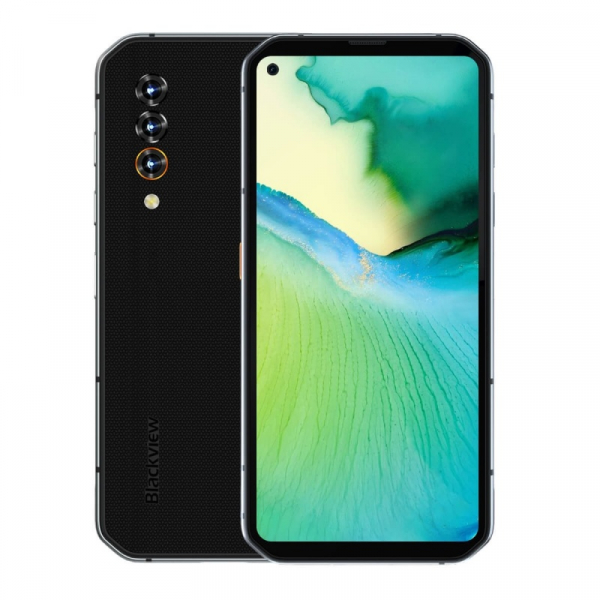 Telefon mobil Blackview BL6000 Pro Gri, 5G, IPS 6.36 , 8GB RAM, 256GB ROM, Android 10, Dimensity 800, NFC, IP68, 5280mAh, Dual SIM