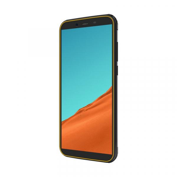 Telefon mobil Blackview BV5500, 3G, IPS 5.5inch, Android 8.1, 2GB RAM, 16GB ROM, MTK6580P QuadCore, 4400mAh, Dual SIM, Waterproof, Galben 2