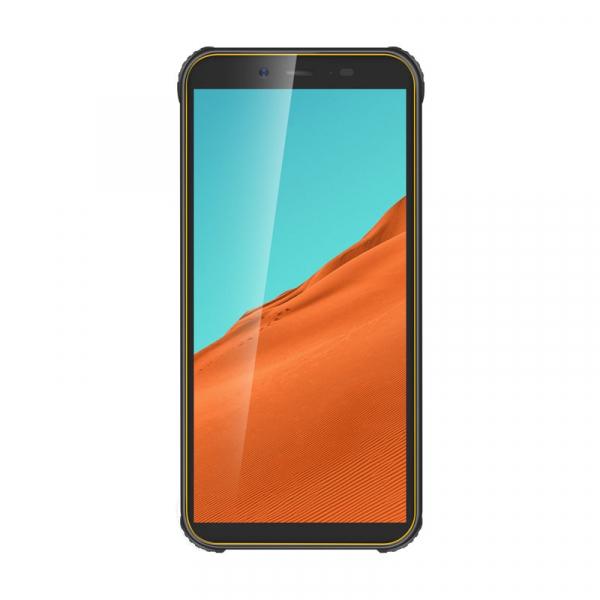 Telefon mobil Blackview BV5500, 3G, IPS 5.5inch, Android 8.1, 2GB RAM, 16GB ROM, MTK6580P QuadCore, 4400mAh, Dual SIM, Waterproof, Galben 0
