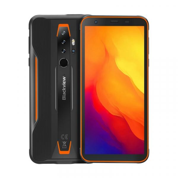 Telefon mobil Blackview BV6300, 4G, IPS 5.7 , 3GB RAM, 32GB ROM, Android 10, Helio A25 OctaCore, IP69K, 4380mAh, Dual SIM, Orange imagine