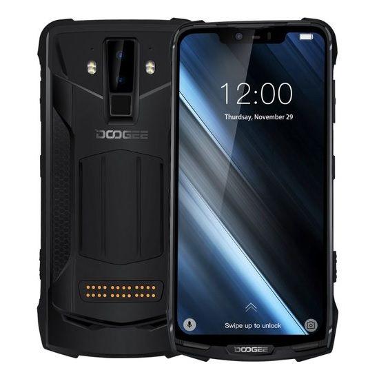 Telefon mobilmodularDoogee S90, IPS 6.18inch,Android 8.1, OctaCore, 6GB RAM, 128GB ROM, Waterproof 1