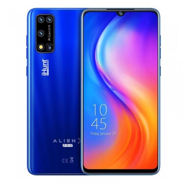 Telefon mobil iHunt Alien X Pro 2021 Albastru, 4G, IPS 6.3 , 2GB RAM, 16GB ROM, Android 10, Spreadtrum SC9832E, Dual SIM, 3500mAh
