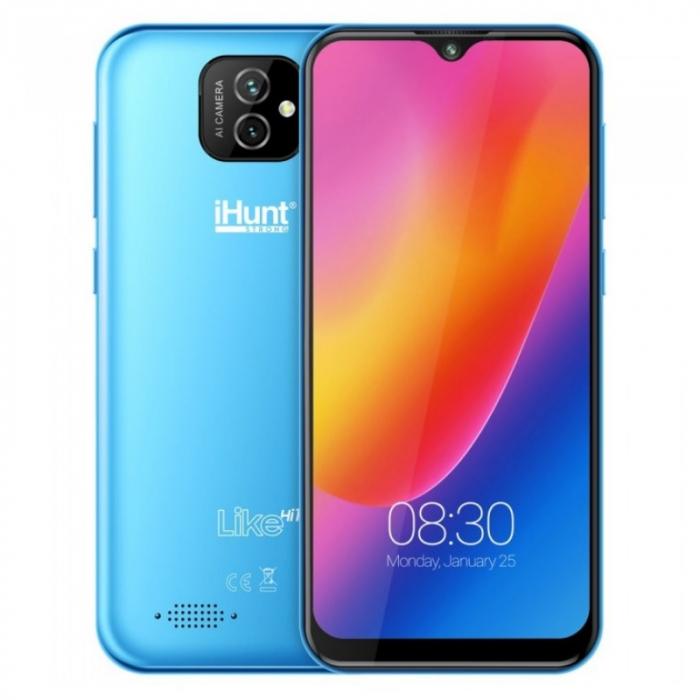 Telefon mobil iHunt Like Hi10 Albastru deschis, 3G, IPS 5.5 Waterdrop, 1GB RAM, 16GB ROM, Android 10 GO, QuadCore, 2650mAh, Dual SIM imagine dualstore.ro 2021