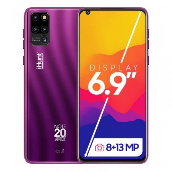 Telefon mobil iHunt Note 20 ApeX 2021 Mov, 3G, IPS 6.9 , 2GB RAM, 16GB ROM, Android 9, Spreadtrum SC7731E, 3600mAh, Dual SIM imagine