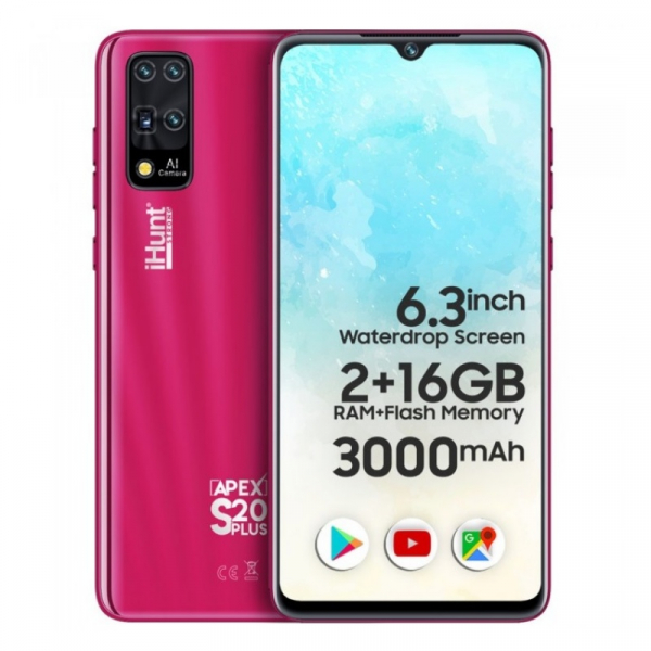 Telefon mobil iHunt S20 Plus ApeX 2021 2/16 Rosu 0