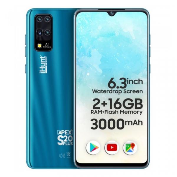 Telefon mobil iHunt S20 Plus ApeX 2021 2/16 Albastru 0