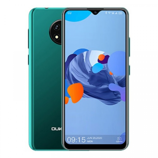Telefon mobil Oukitel C19, 4G, IPS 6.49 , 2GB RAM, 16GB ROM, Android 10 GO, MTK6737 QuadCore, 4000mAh, Dual SIM, Verde imagine dualstore.ro 2021