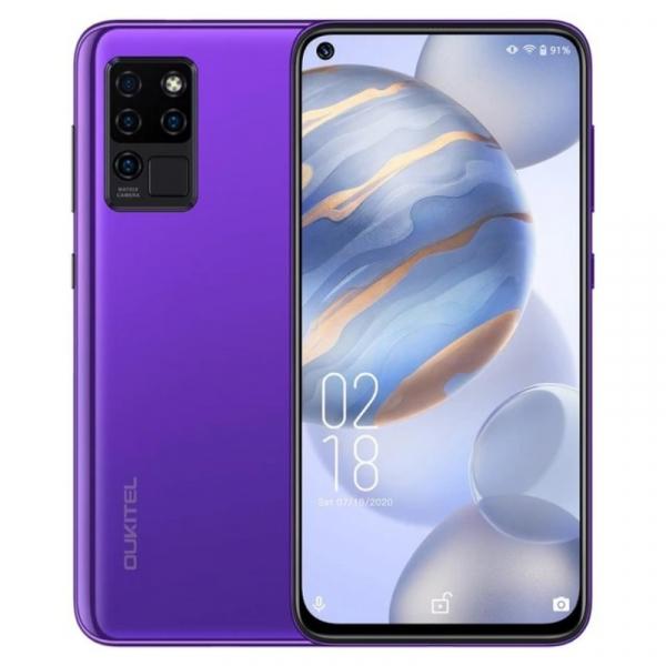 Telefon mobil Oukitel C21, 4G, IPS 6.4 Hole-Punch, 4GB RAM, 64GB ROM, Android 10, Helio P60 OctaCore, 4000mAh, Dual SIM, Mov imagine dualstore.ro 2021
