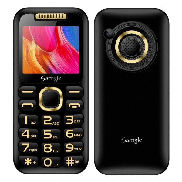 Telefon mobil Samgle Halo, 3G, TFT 2.0 color, Camera 2.0MP, Bluetooth, FM, Lanterna, 3000mAh, Dual SIM, Stand incarcare cadou, Negru imagine dualstore.ro 2021
