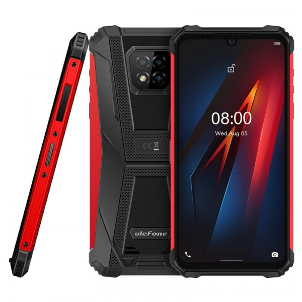 Telefon mobil Ulefone Armor 8 4/64 Rosu 2