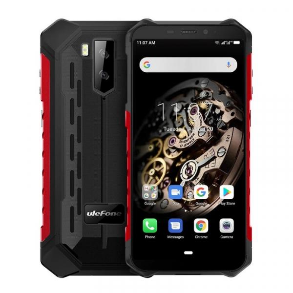 Telefon mobil Ulefone Armor X5 3/32 Android 10.0 Rosu 0
