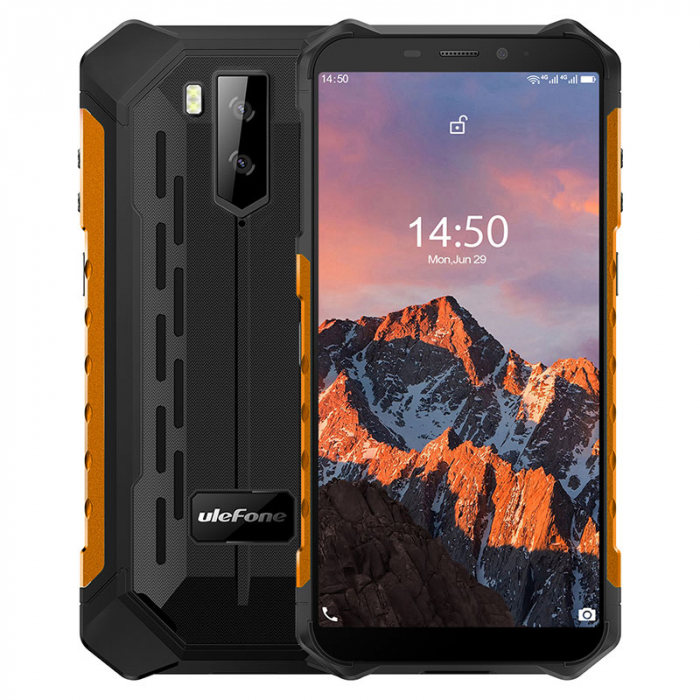 Telefon mobil Ulefone Armor X5 PRO Orange [1]