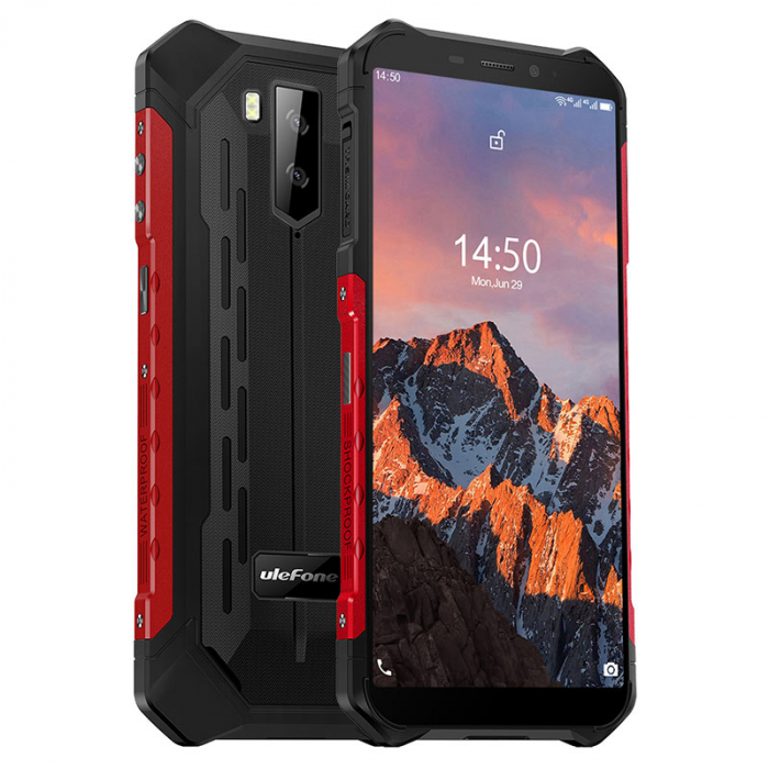Telefon mobil Ulefone Armor X5 PRO Rosu [0]