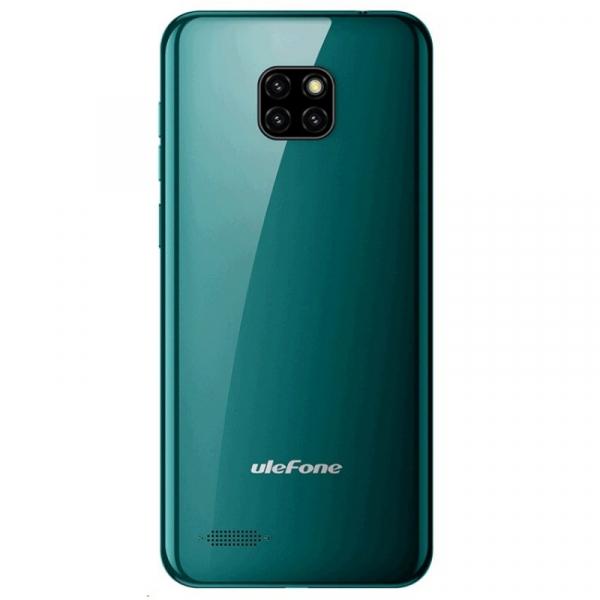 Telefon mobil Ulefone Note 7, IPS 6.1inch, 1GB RAM, 16GB ROM, Android 8.1 GO, MT6580 QuadCore, 3500mAh, Dual SIM, Verde 2