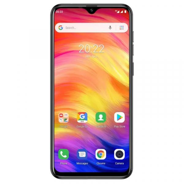 Telefon mobil Ulefone Note 7, IPS 6.1inch, 1GB RAM, 16GB ROM, Android 8.1 GO, MT6580 QuadCore, 3500mAh, Dual SIM, Negru 1