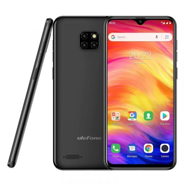 Telefon mobil Ulefone Note 7, IPS 6.1inch, 1GB RAM, 16GB ROM, Android 8.1 GO, MT6580 QuadCore, 3500mAh, Dual SIM, Negru 4