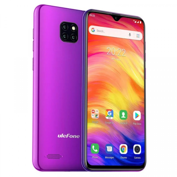 Telefon mobil Ulefone Note 7, IPS 6.1inch, 1GB RAM, 16GB ROM, Android 8.1 GO, MT6580 QuadCore, 3500mAh, Dual SIM, Mov 1