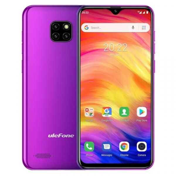 Telefon mobil Ulefone Note 7, IPS 6.1inch, 1GB RAM, 16GB ROM, Android 8.1 GO, MT6580 QuadCore, 3500mAh, Dual SIM, Mov 0