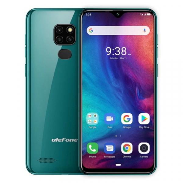 Telefon mobil Ulefone Note 7P, IPS 6.1inch, 3GB RAM, 32GB ROM, Android 9.0, Helio A22, PowerVR GE8300, QuadCore, 3500mAh, Dual Sim imagine dualstore.ro 2021