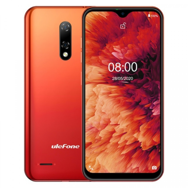 Telefon mobil Ulefone Note 8P 2/16 Orange 0