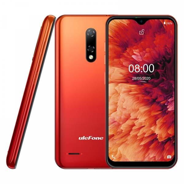 Telefon mobil Ulefone Note 8P 2/16 Orange 3