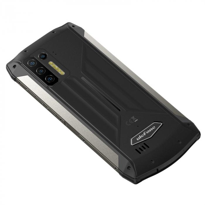Pachet telefon mobil Ulefone Power Armor 13 8/256 Negru + Endoscop Ulefone E1 [10]