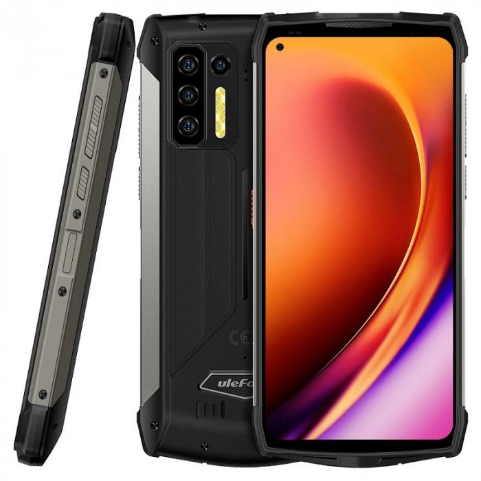 Pachet telefon mobil Ulefone Power Armor 13 8/256 Negru + Endoscop Ulefone E1 [1]